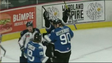 Steelheads stay alive in playoffs, pick up first win in series against Tulsa Oilers