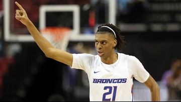 Boise State beats Colorado State 66-57 in MWC tourney