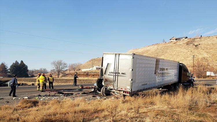 Oregon crash that killed a Payette man.