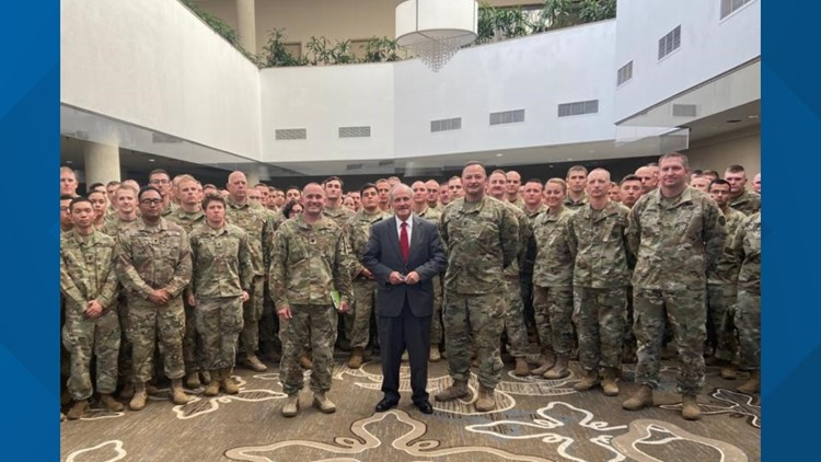 Quick trip to D.C. for Idaho guardsmen