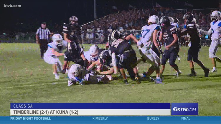 Friday Night Football: The Wolves beat the Kuna Kavemen in week 4