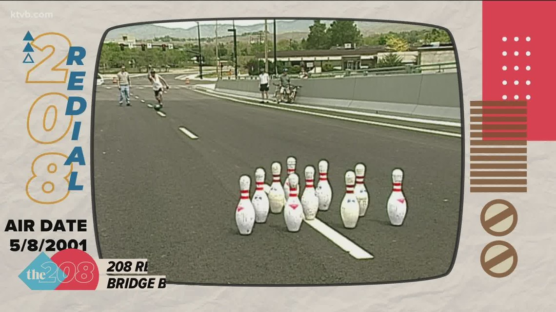 208 Redial: Before it opened 20 years ago, KTVB reporter bowled on the Parkcenter Bridge