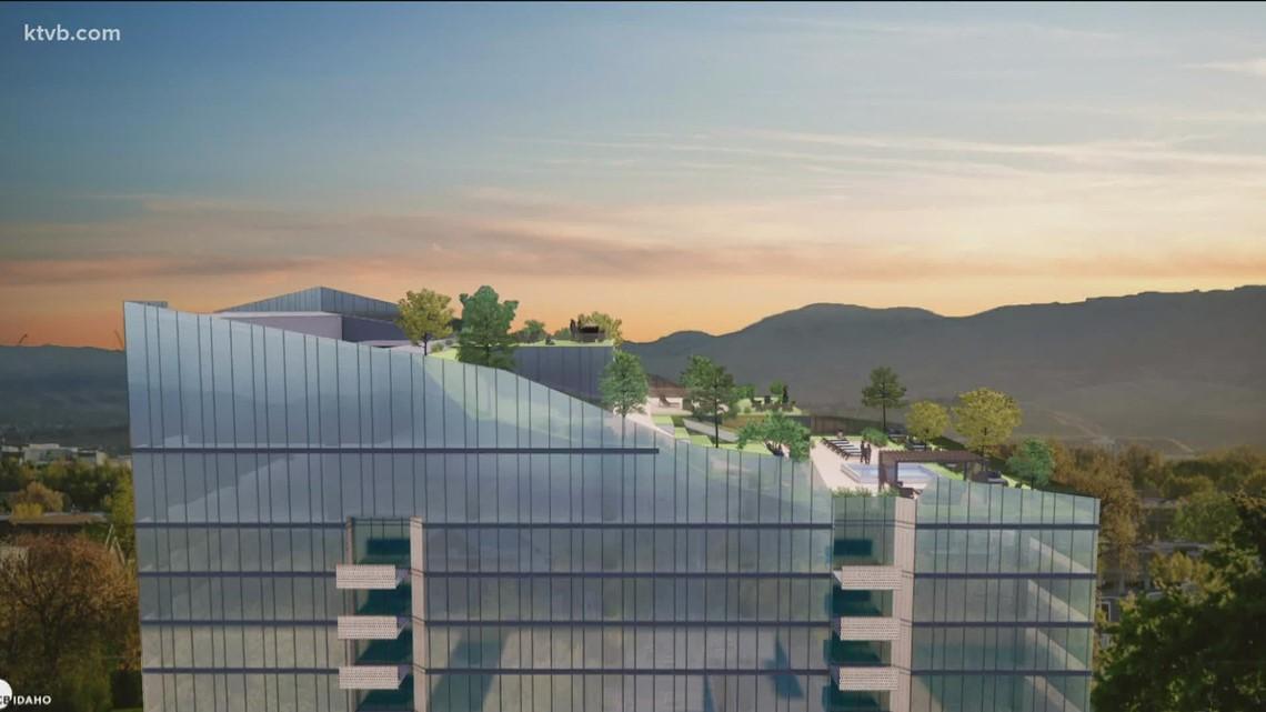 Longtime Boise developer plans 27-story apartment building for downtown