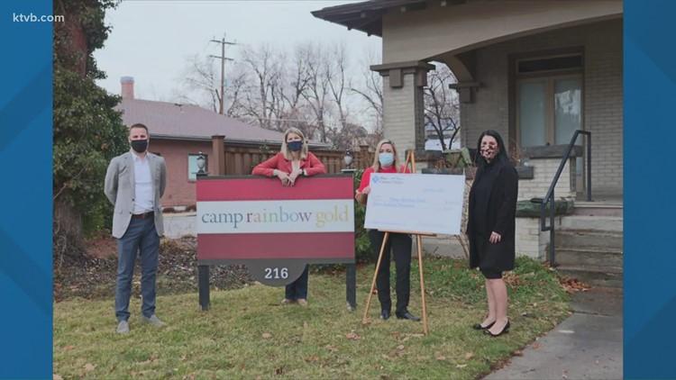Blue Cross of Idaho donates $700K to Camp Rainbow Gold