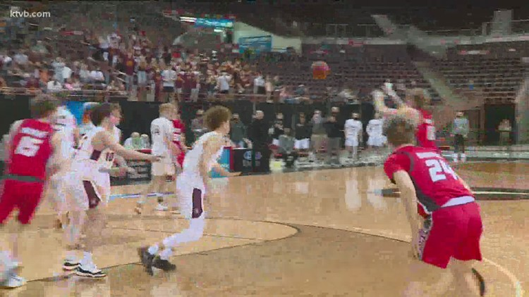 First round highlights from the Boys State Basketball Tournament