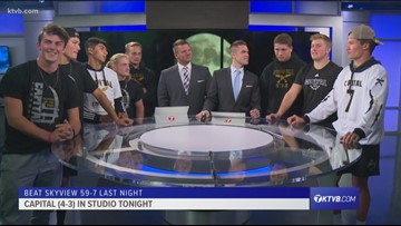 Friday Night Football: Capital Eagles join the show after beating Skyview Hawks