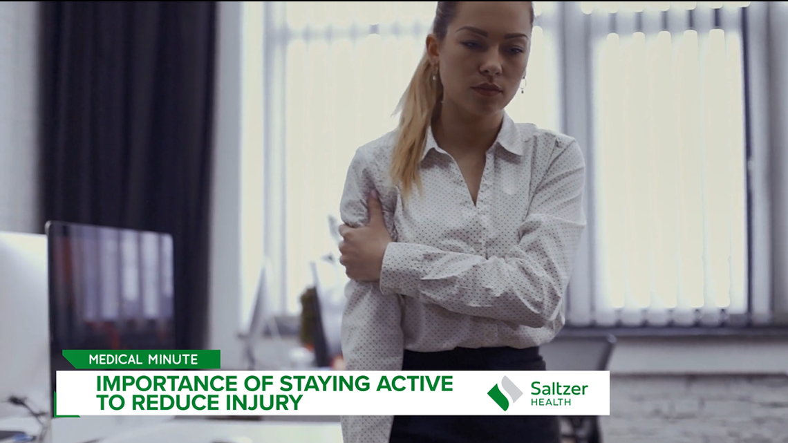 Medical Minute: The importance of staying active to reduce injury