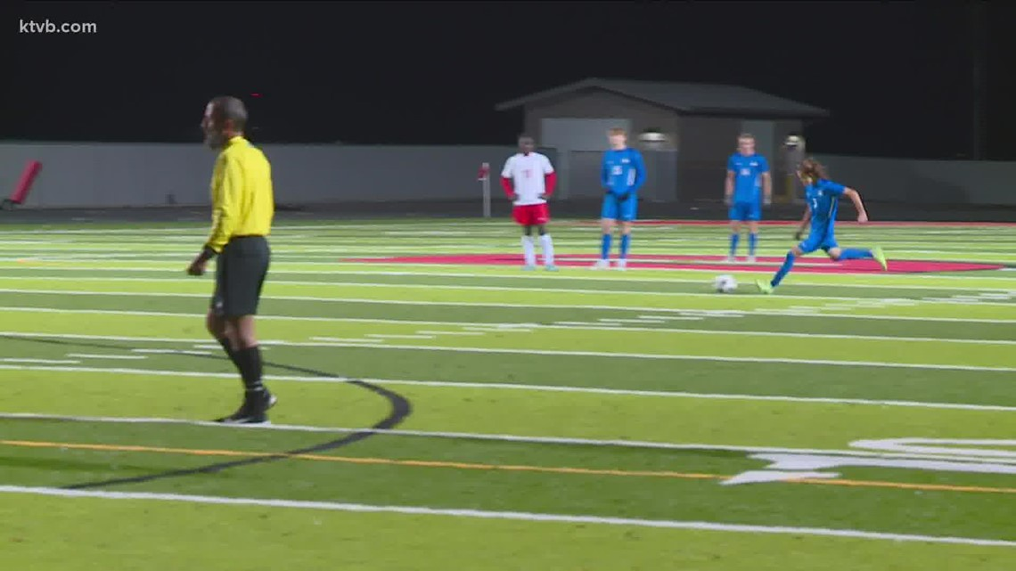 HIGHLIGHTS: Boise Brave vs. Timberline Wolves boys 5A SIC soccer final 10/13/2021