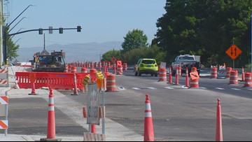 One lane of travel opens on Cloverdale Overpass