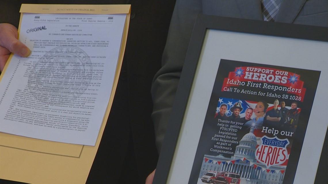 Idaho governor signs first responder PTSI bill into law | ktvb com
