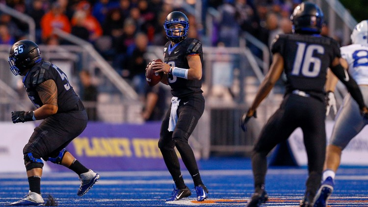 Big 2nd half leads No. 20 Boise State past Air Force 30-19