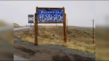 ITD auctioning off 'Welcome to Idaho' sign