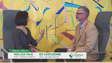 Medical Minute: CEO of Saltzer Health, Ed Castledine, shares what the future of Saltzer Health looks like.
