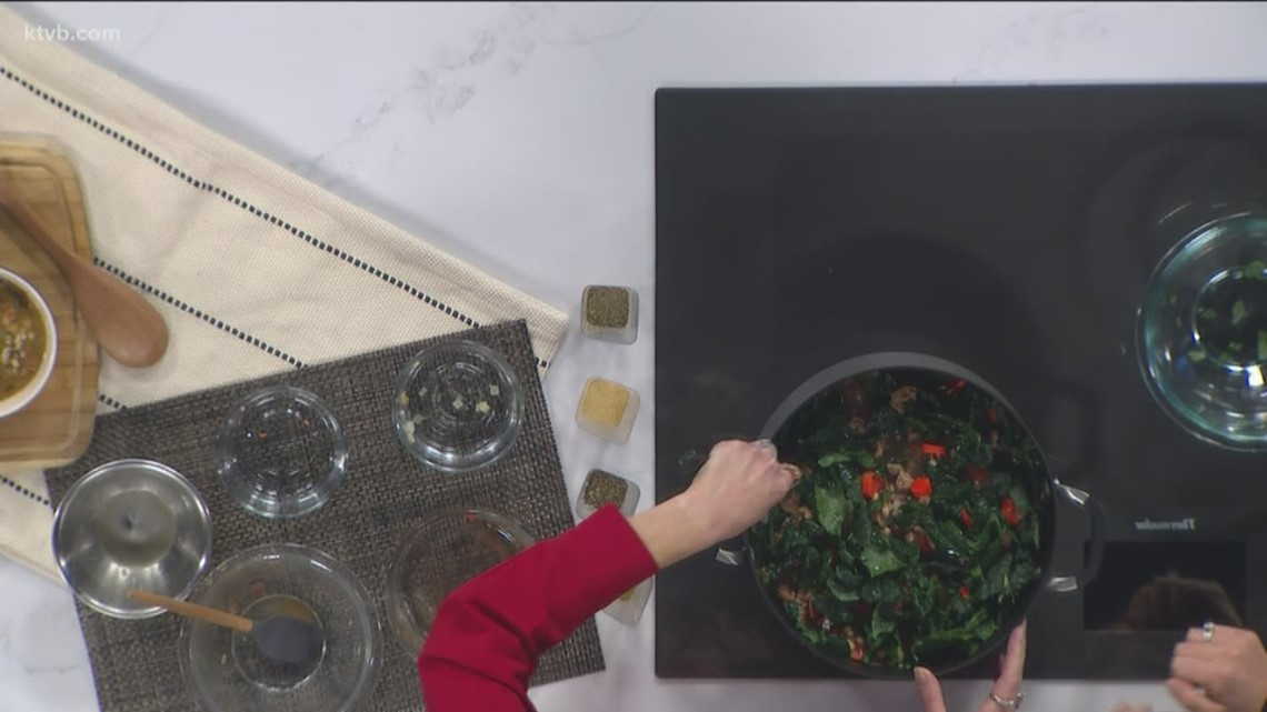 KTVB Kitchen: Tuscan turkey and white bean soup