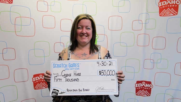 Washington woman wins 2nd big prize from Idaho Lottery in just two weeks