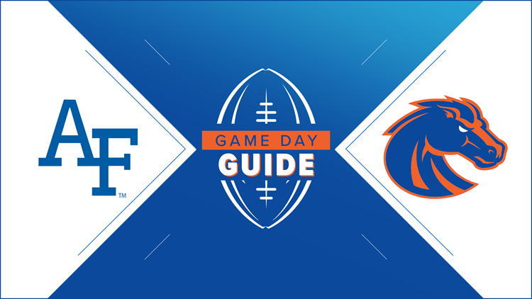 Game Day Guide: Air Force Falcons vs. Boise State Broncos