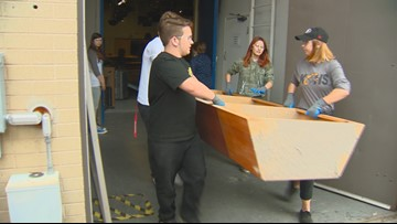 Old KTVB sets to get some good use at area schools