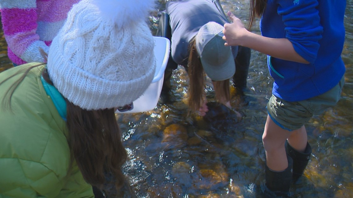 West Ada teacher immerses students in the science of the Boise River