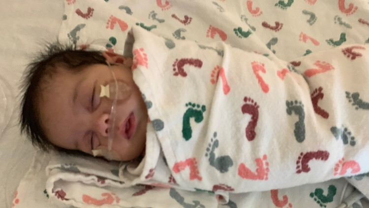 As her newborn lies in the ICU, Colorado mother has warning about RSV