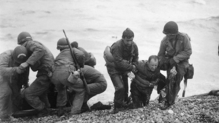 WWII D-DAY INVASION OF NORMANDY