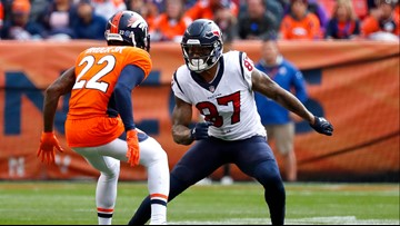 Former Broncos and Texans receiver Demaryius Thomas rolls vehicle, he and 2 others rushed to hospital