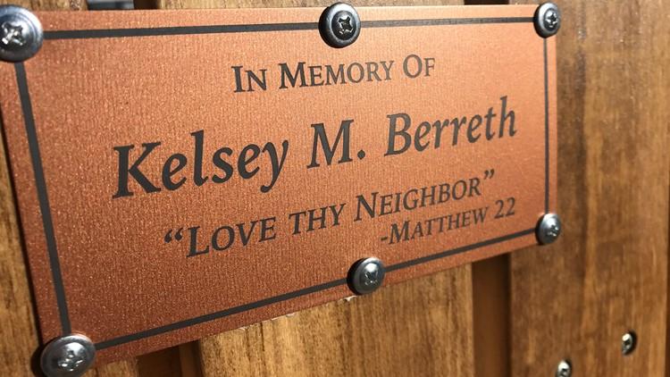 Kelsey Berreth plaque