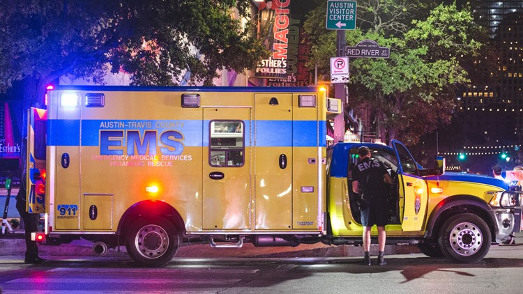 Video: 13 hurt in Austin mass shooting; police still looking for suspect or suspects
