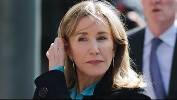 'I was stupid': Felicity Huffman sentenced to 14 days in prison for college admissions scandal