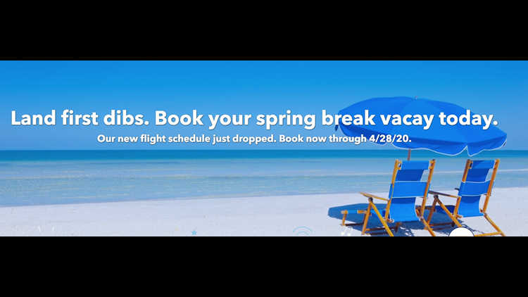 Sample of the email giving you a heads up that the JetBlue schedule extension is coming soon.