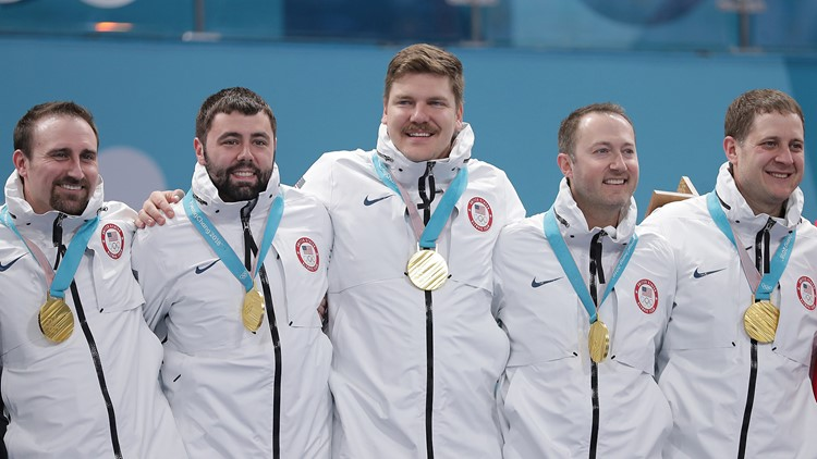 usa mens curling medal