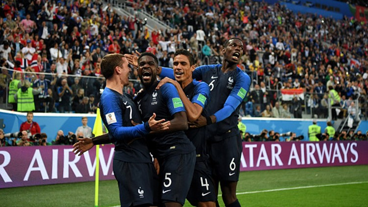 Rarely has a team cruised all the way to a World Cup title. France is one game away from doing so.