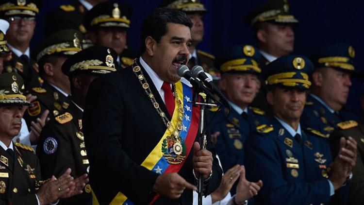 Venezuela Official: Explosion Was Attempted Attack on Maduro, Seven Injured