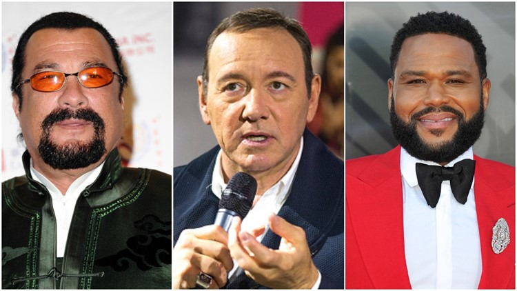 Spacey, Seagal, Anderson won't face charges in select sex