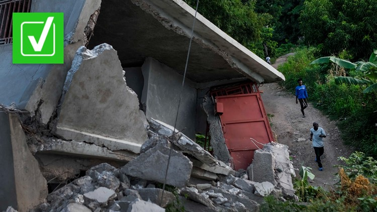 Yes, the 2021 earthquake in Haiti was twice as strong as the 2010 disaster