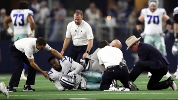 'It's like life left my body': Allen Hurns' mom opens up about gruesome ankle injury and the faith anchoring Cowboys player's recovery