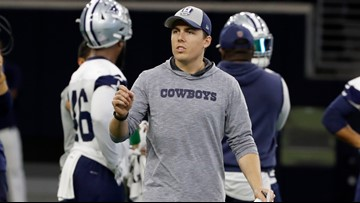 Cowboys offensive coordinator Kellen Moore shares his vision for success