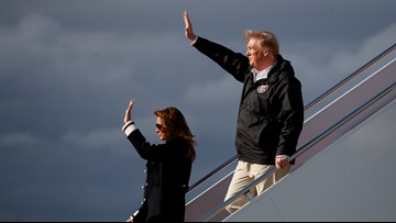 Twitter reignites 'Fake Melania' conspiracy after Trump's Alabama visit