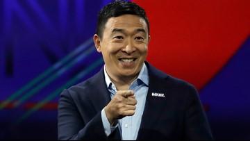 Andrew Yang qualifies for next week's Democratic presidential debate