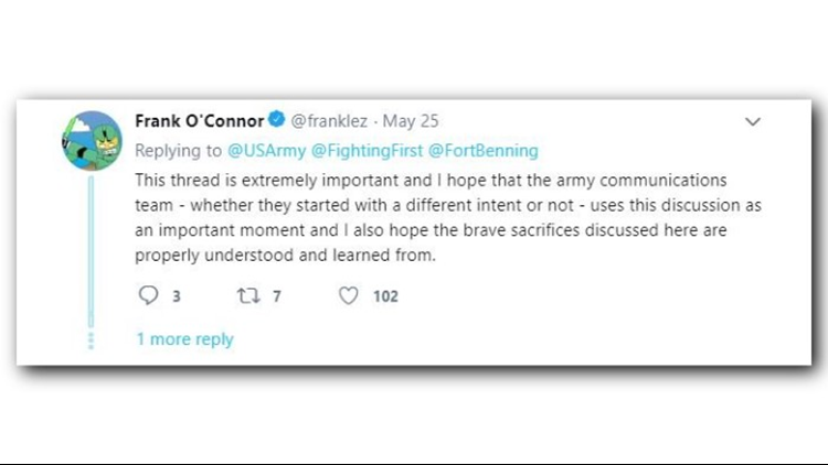 US Army Twitter