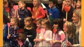 Young Michigan boy invites entire kindergarten class to his adoption hearing